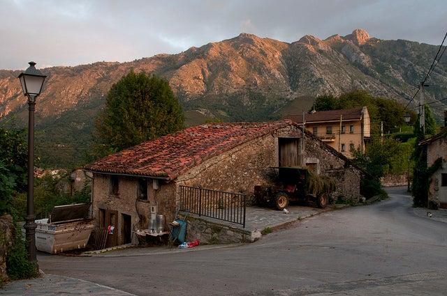 Arenas de Cabrales, uno de los pueblos de los Picos de Europa