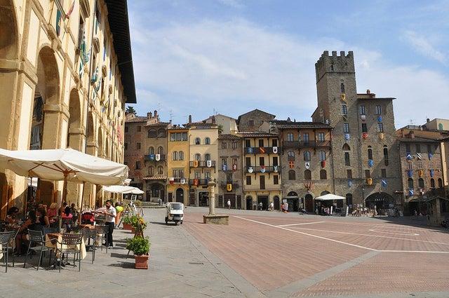 Arezzo en Italia