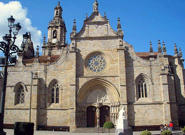 Iglesia de San Severino, uno de los lugares que ver en Balmaseda