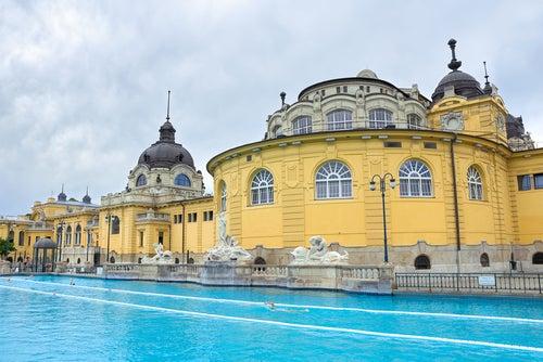 Baños Szechenyi en Budapepst
