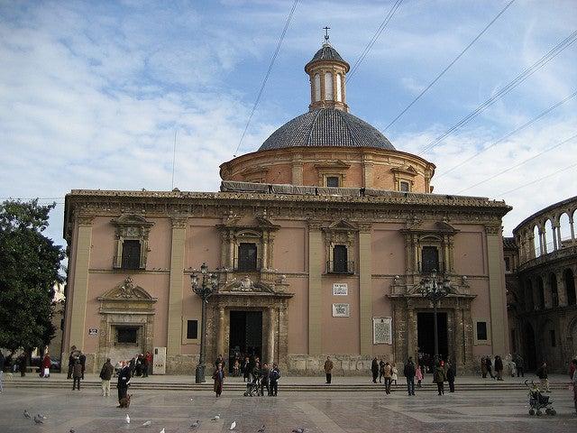 Basílica delos desamparados de Valencia