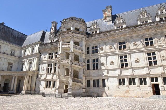Castillo de Blois en el Loira