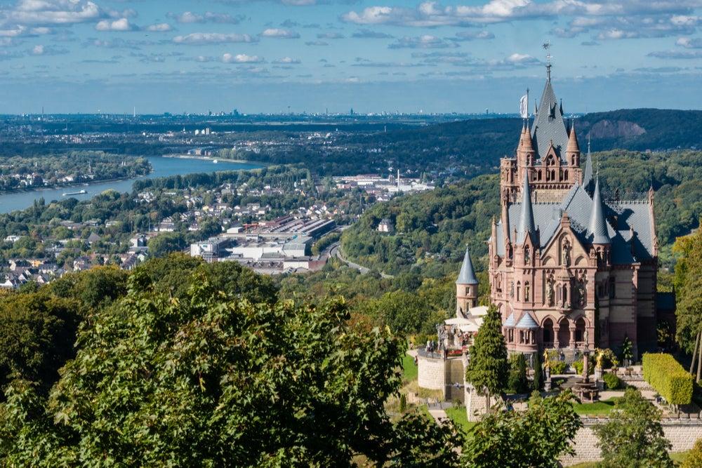 Ciudades de Alemania, vista de Bonn