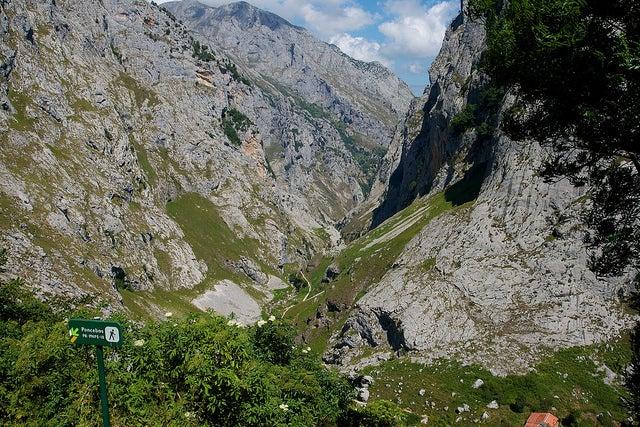Bulnes en los Picos de Europa