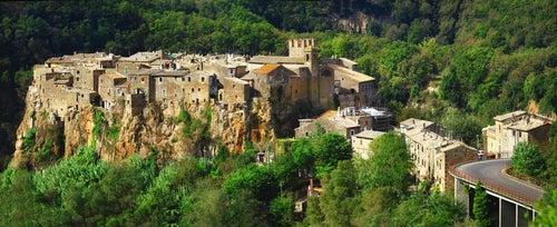 Calcata, uno de los pueblos con encanto cerca de Roma
