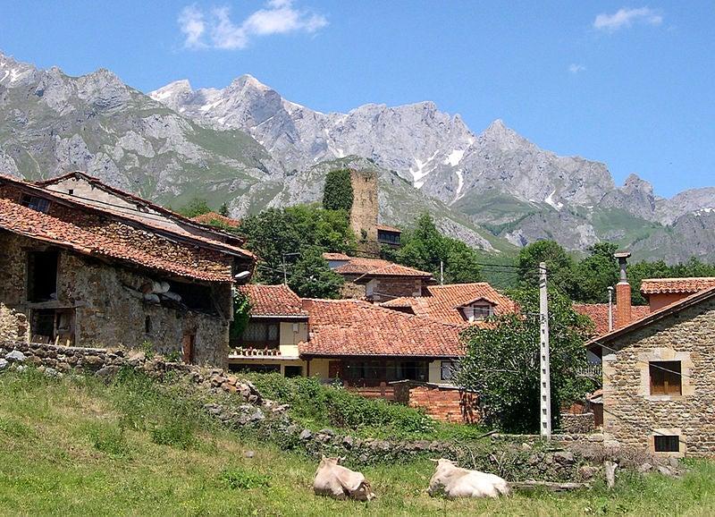Camaleño, uno de los pueblos de los Picos de Europa