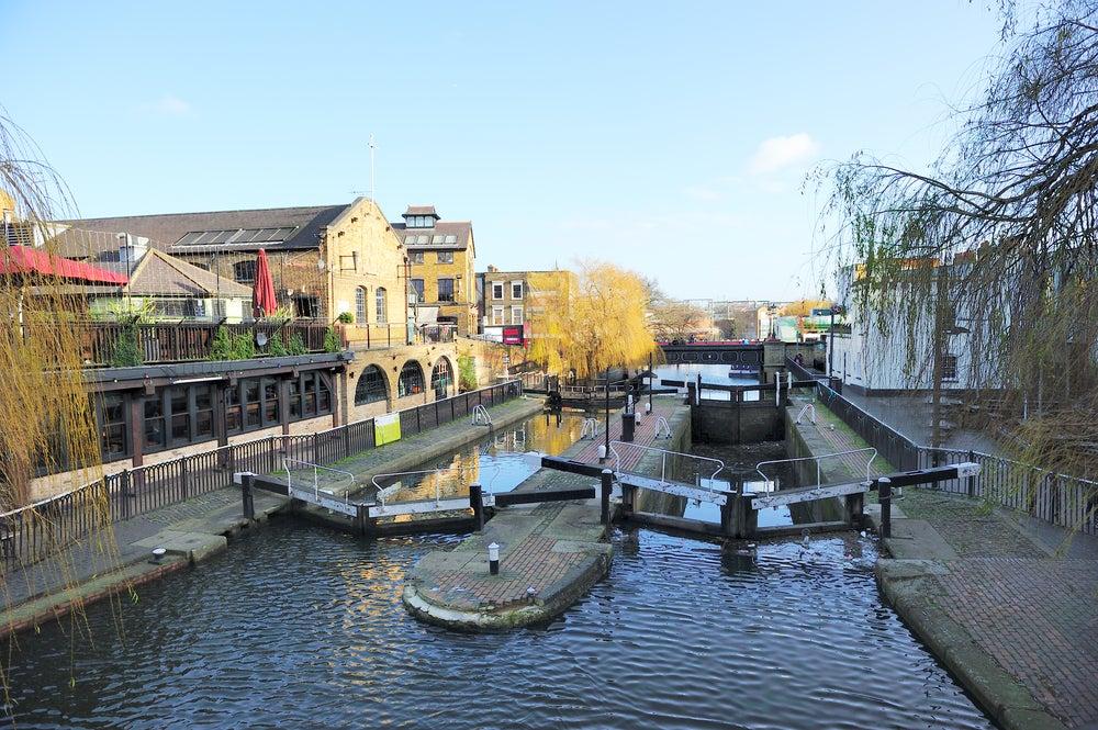 Canal en Camden Town