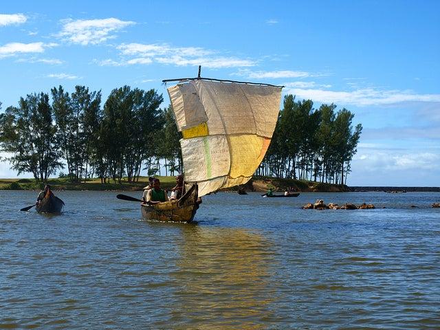 Canal de Pangalanes en Madagascar