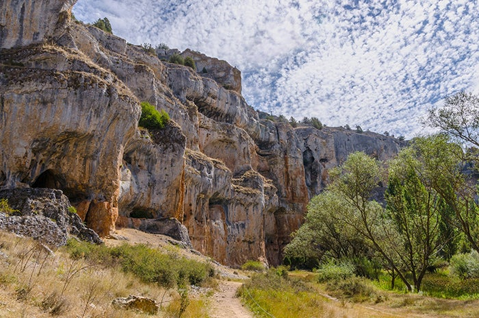 Cañón del río Lobos en Soria