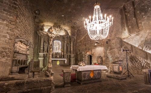 Minas de Wieliczka en Polonia
