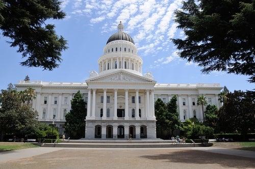 Capitolio en Sacramento EEUU
