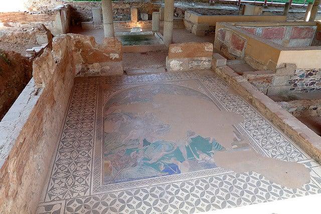 Casa de Mitreo en Mérida
