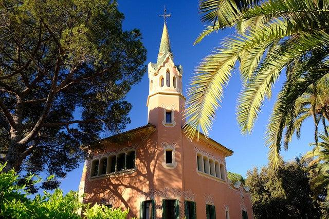 Casa-museo deGaudí en el parque Güell