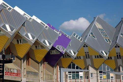 Casas Cubo de Rotterdam en Países Bajos