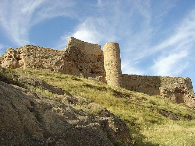 Castillo de Arnedo en La Rioja