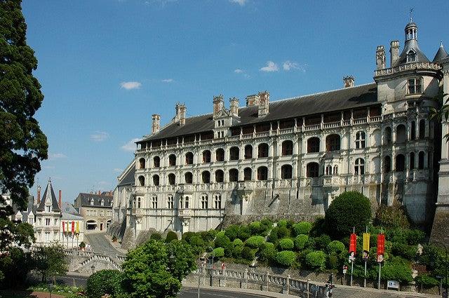Castillo deBlois en el valle del río Loira
