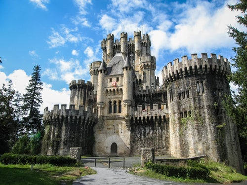 Castillo de Butrón, uno de los sitios más bonitos de España