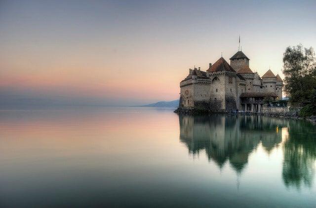 Castillos de Europa, Chillón en Suiza