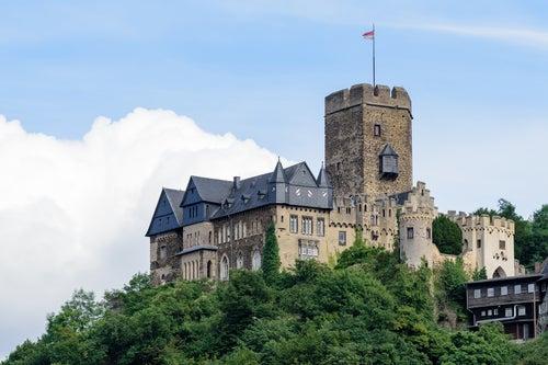 Castillos del Rhin, Lahneck