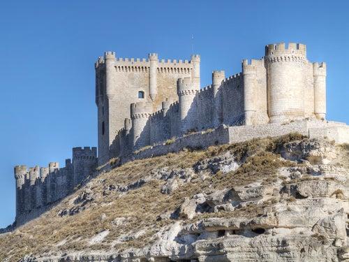 Castillo de Peñafiel en Valladolid