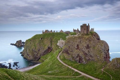 Castillo de Dunnotar en Escocia
