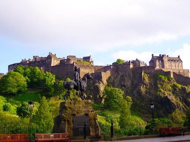 Castillos de Europa. Edimburgo