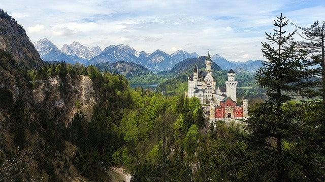 Castillo del Rey Loco, Neuschwanstein