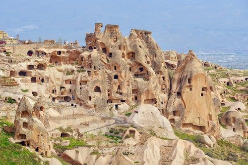 Castillo de Usichar en Capadocia
