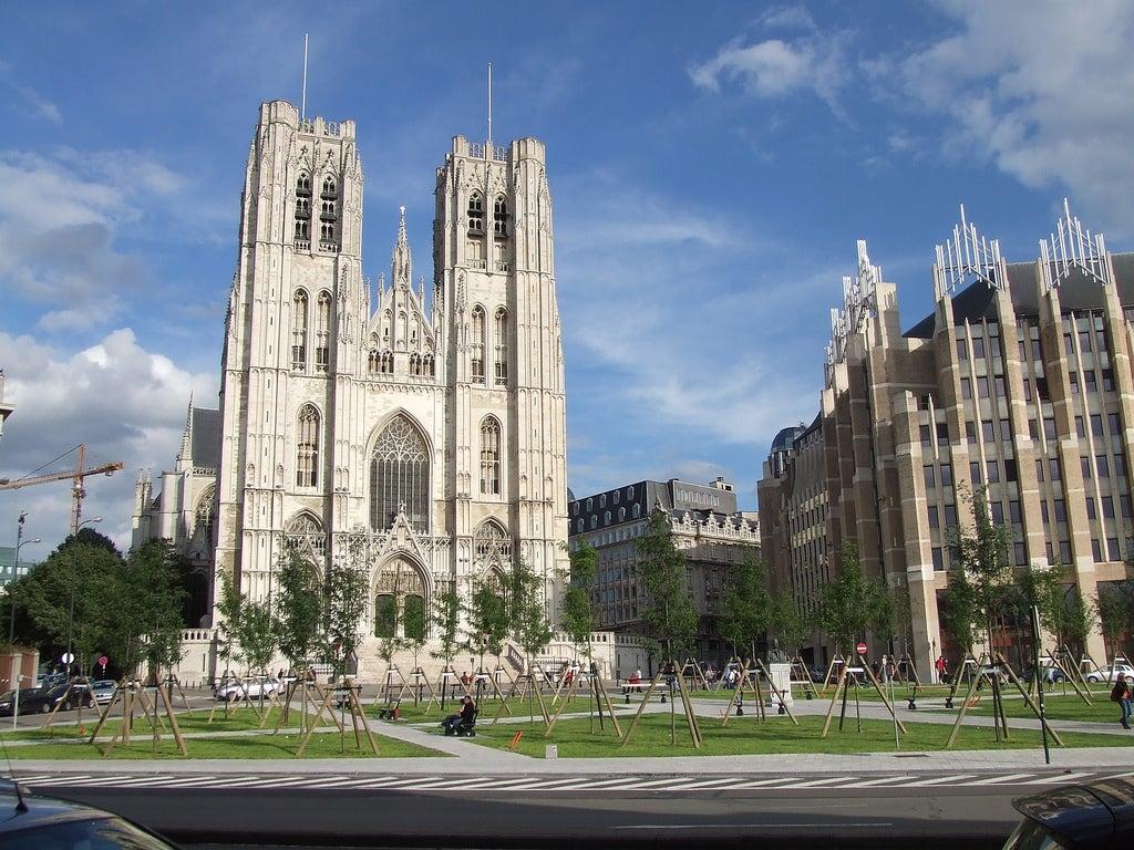 La catedral de Bruselas, una joya del arte gótico