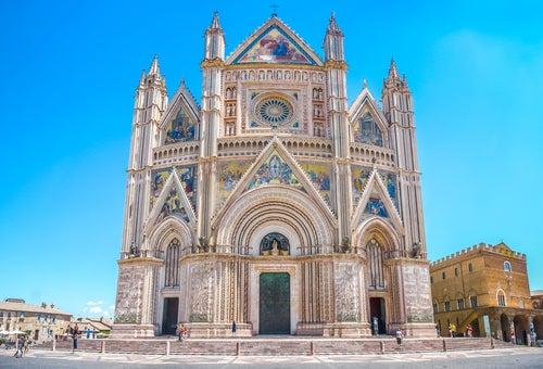Catedral de Orvieto en Italia