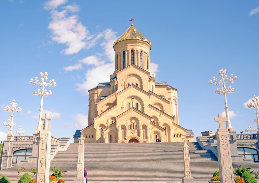 Catedral de Tiflis, capital de Georgia