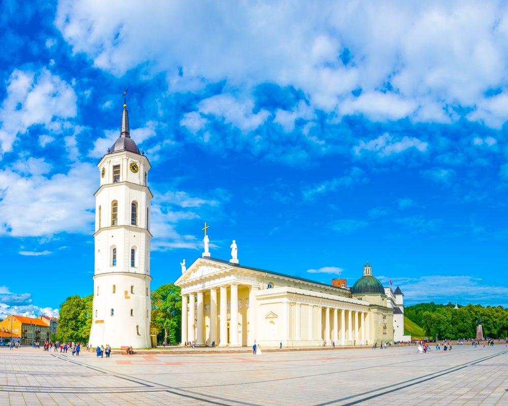Catedral de San Estanislao en Vilna, capital de Lituania