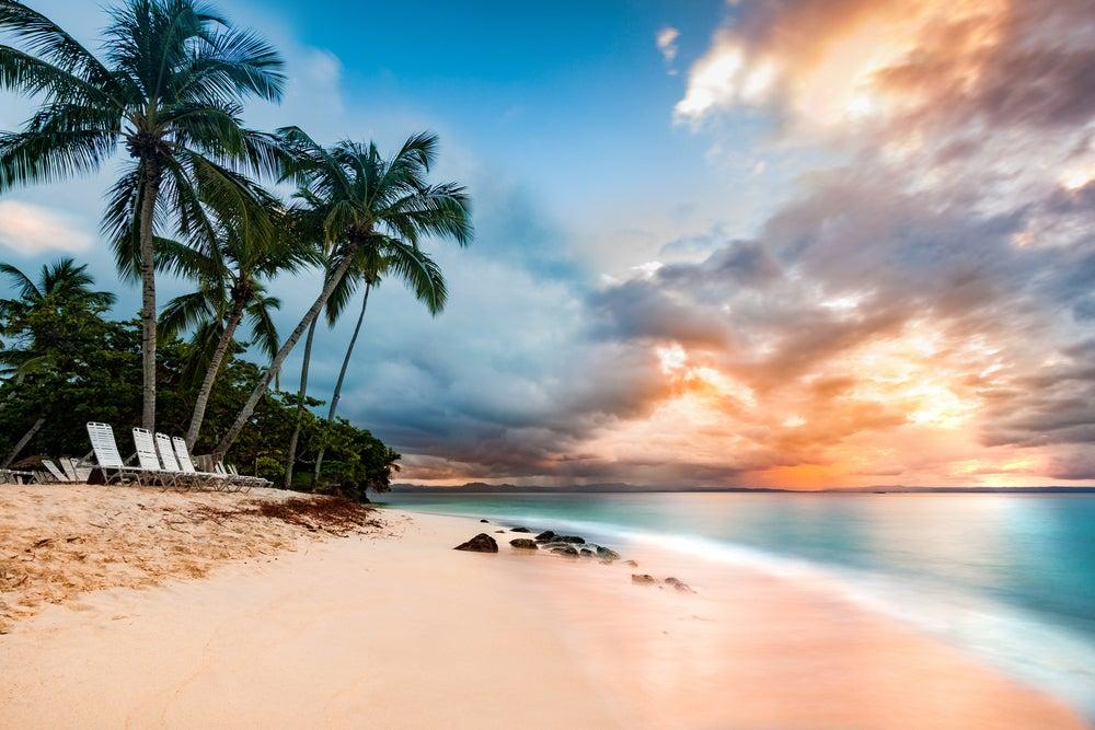 Cayo Levantado en República Dominicana en el Caribe