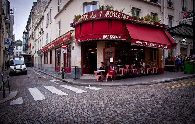 Cafe 2 Molins en París