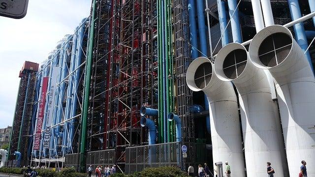 Centro Pompidou, uno de los museos de París