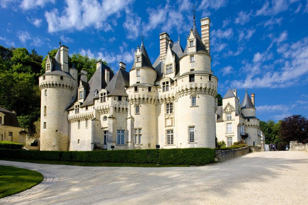 Château d'Usse en el Loira