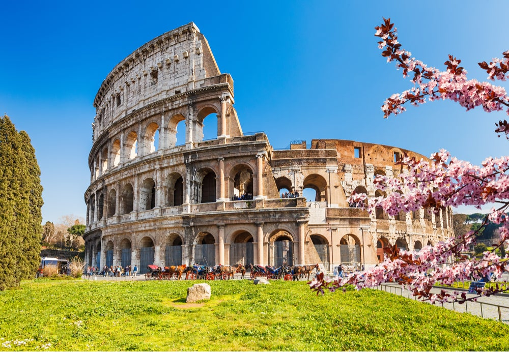Anfiteatros romanos: coliseo de Roma