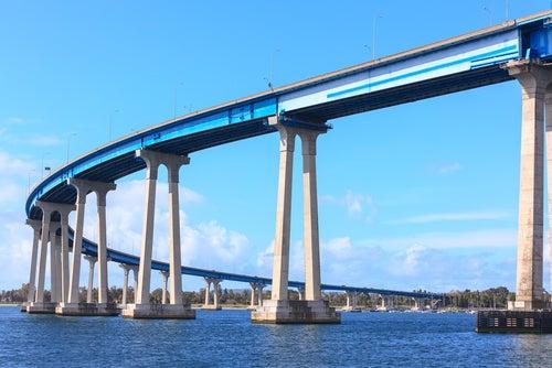 Puentes de Estados Unidos, Coronado Bridge en San Diego