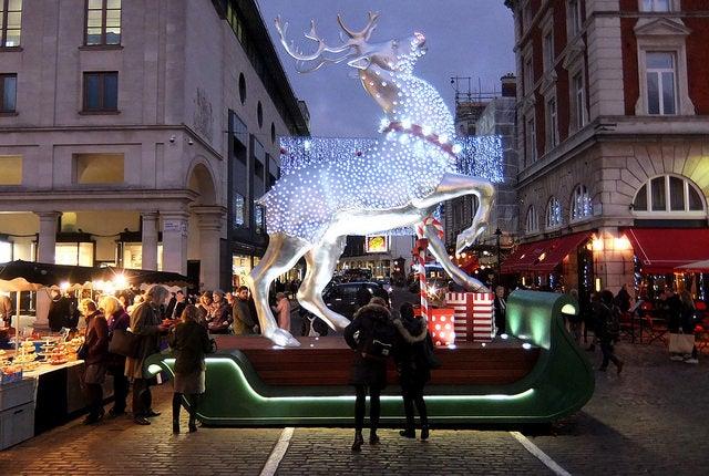 Londres en Navidad: Covent Garden