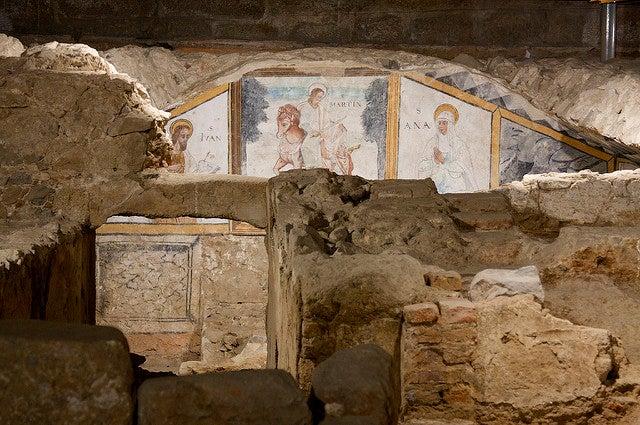 Monumentos de Mérida, Cripta de Santa Eulalia