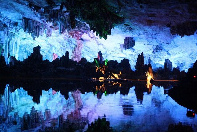 Cueva de la Flauta de Caña en Guilin