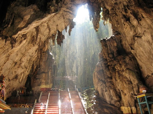 Cuevas de Batu, tesoros bajo tierra en Malasia