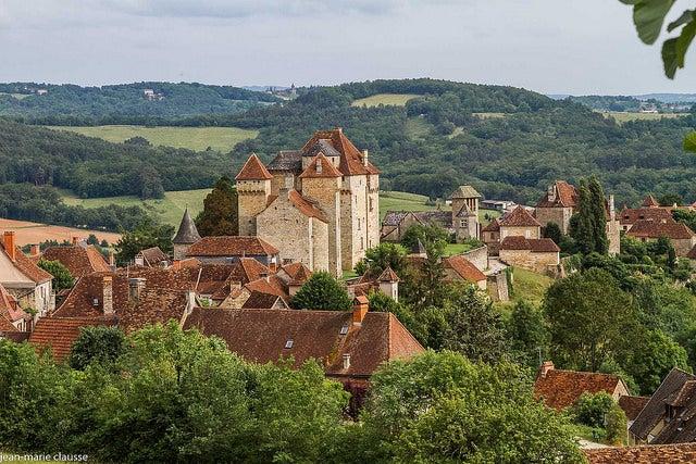 Curemonte, uno de lospueblos medievales franceses más bonitos