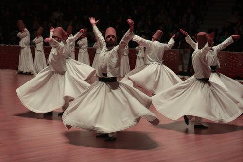 Derviches bailando en Capadocia