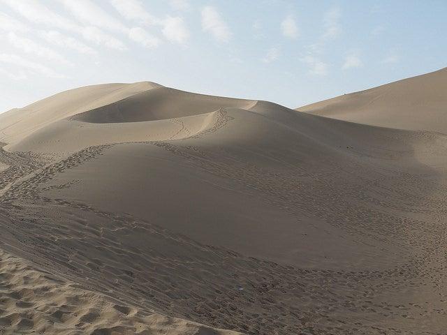 Desierto del Gobi en China