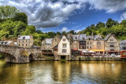 Dinan, uno delos pueblos medievales franceses más bonitos