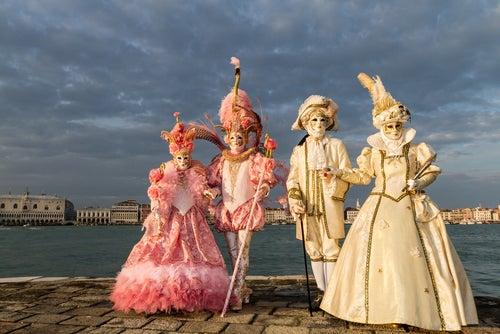 Disfraces de Carnaval en Venecia