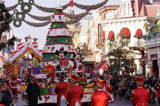 Disneyland París, uno de los destinos navideños especiales