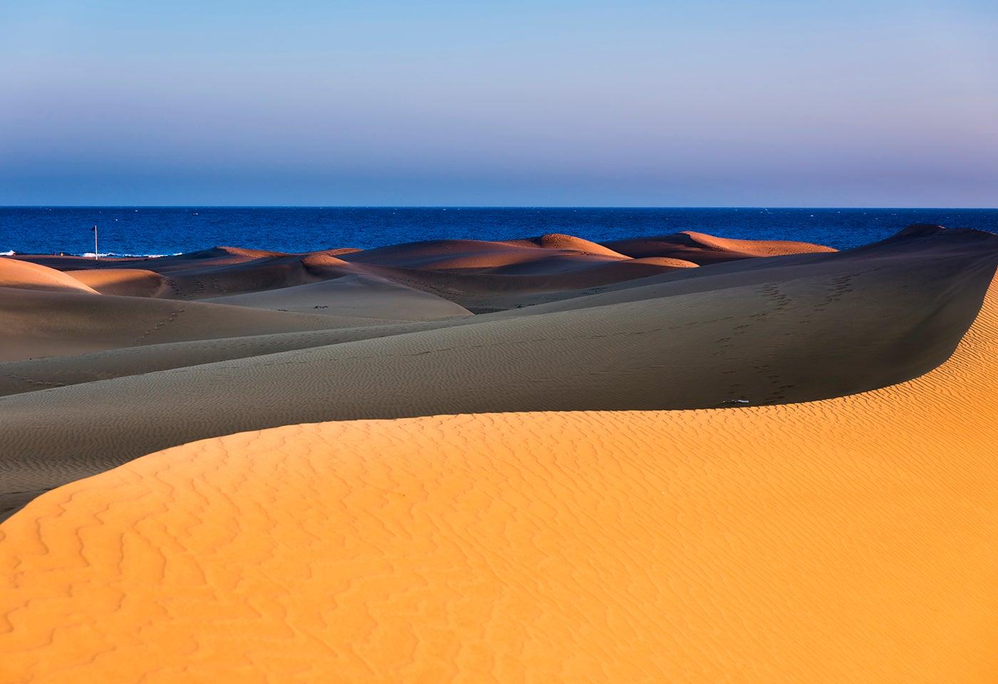 Dunas deMAspalomas en Gran Canaria