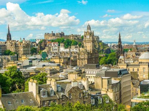 Edimburgo, vista de la ciudad